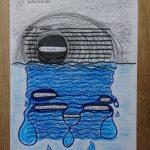 Blackout Poetry mit Kurzgeschichte